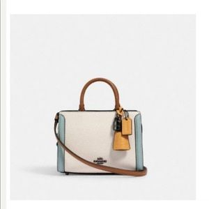 Coach Micro Zoe Crossbody in Colorblock